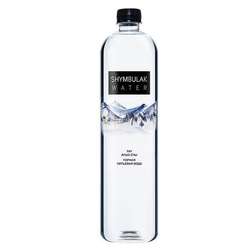 Shymbulak горная питьевая вода, 1л, 6 шт.