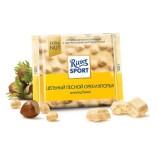 Ritter Sport шоколад белый Цельный лесной орех и хлопья, 100 гр