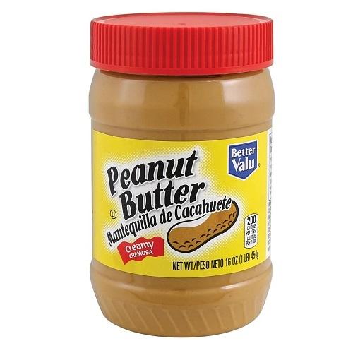 Better Valu арахисовая паста, мягкая, 454 гр