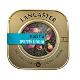 Lancaster черный чай с бергамотом, лепестками василька и розы, 75 гр.