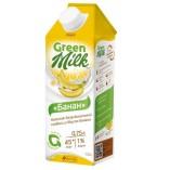 Green Milk напиток соевый со вкусом банана, 750 мл