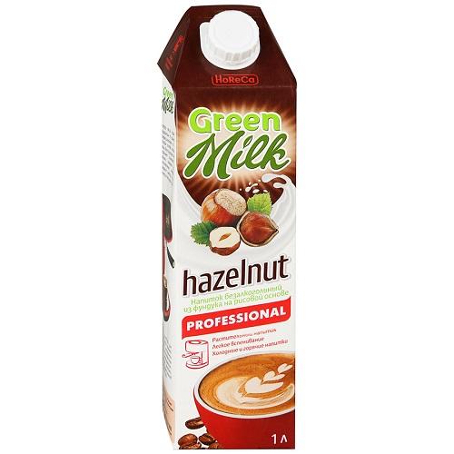 Green Milk Professional напиток рисовой основе Лесной орех, 1л