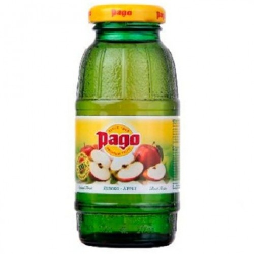 Pago сок Яблоко 200 мл, стекло, 24 шт