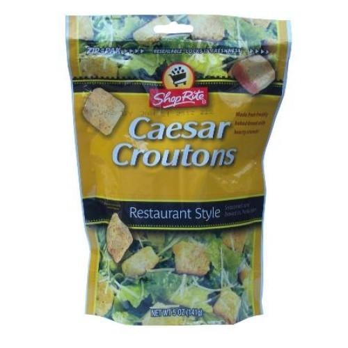 ShopRite сухари для салата Цезарь, 141 гр