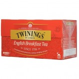 Twinings English Breakfast, 25 пакетиков