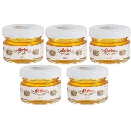 Darbo мед, стекло 28 г, 60 штук