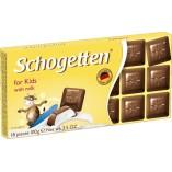 Schogetten шоколад молочный с молочной начинкой, 100 гр