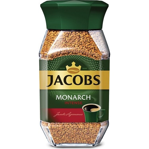 Jacobs Monarch Intens, растворимый, стекло, 95 гр