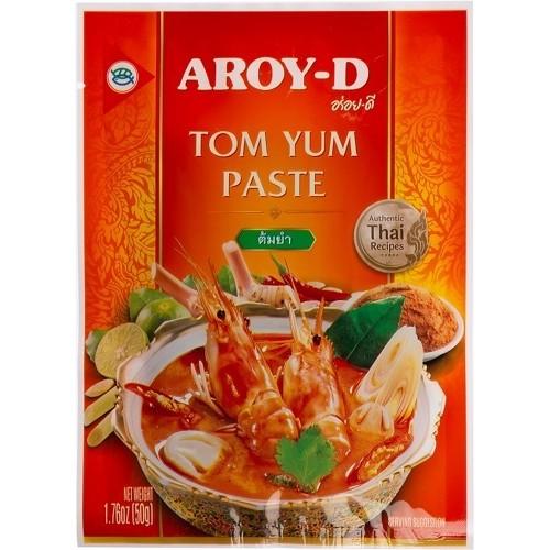 Aroy-D паста Том Ям, красная, 50 гр