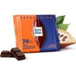 Ritter Sport шоколад темный 74%, 100 гр