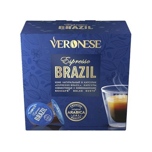 Veronese Espresso Brazil, для Dolce Gusto, 10 шт