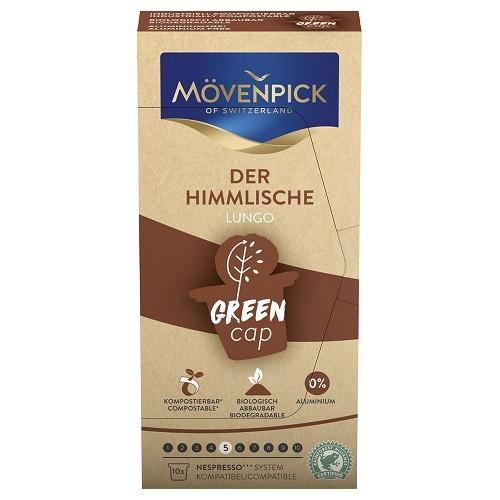 Movenpick Der Himmlische Green cap, для Nespresso, 10 шт.