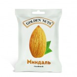 Golden Nuts Миндаль, соленый, 50 гр.