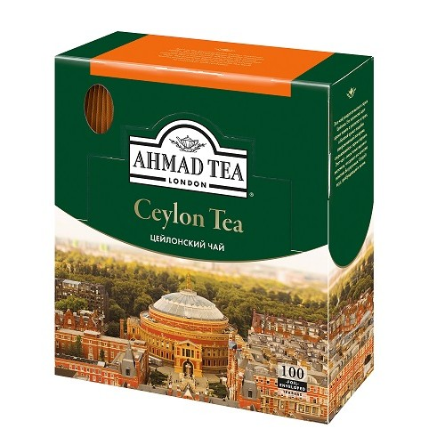 Ahmad Tea черный чай Цейлонский,  100 пакетиков