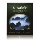 Greenfield черный чай Magic Yunnan, 100 пакетиков
