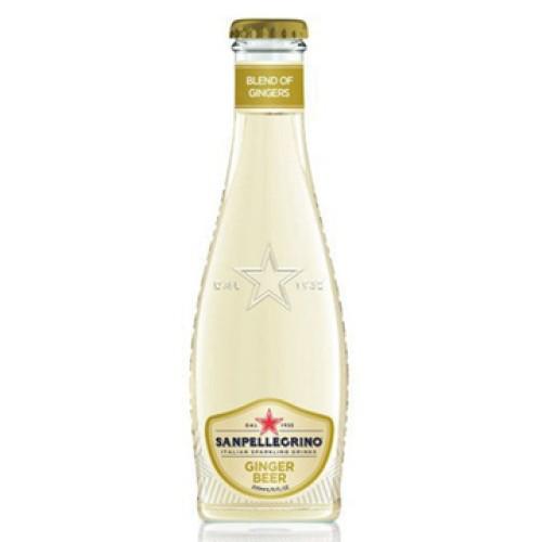 San Pellegrino газированный напиток Tonica Ginger Beer, стекло, 200 мл, 24 шт