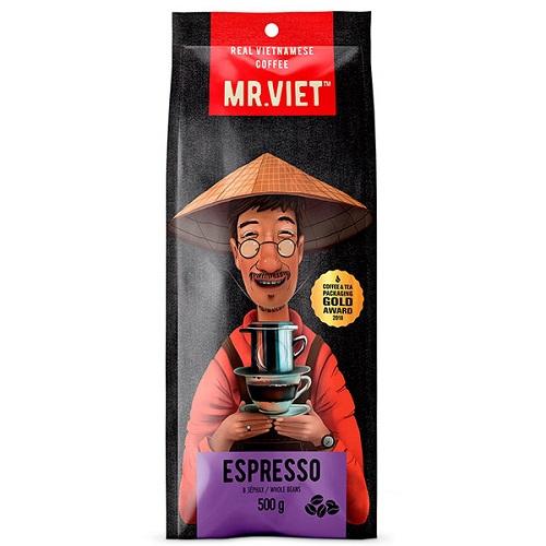 Mr. Viet Espresso, зерно, 500 гр