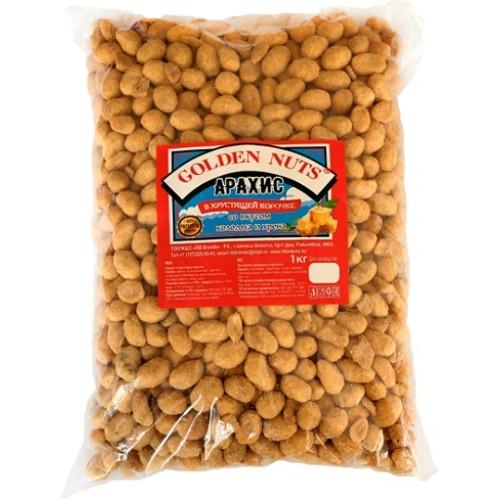 Golden Nuts Арахис в хрустящей корочке, холодец и хрен, 1 кг.