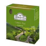 Ahmad Tea зелёный чай, 100 пакетиков