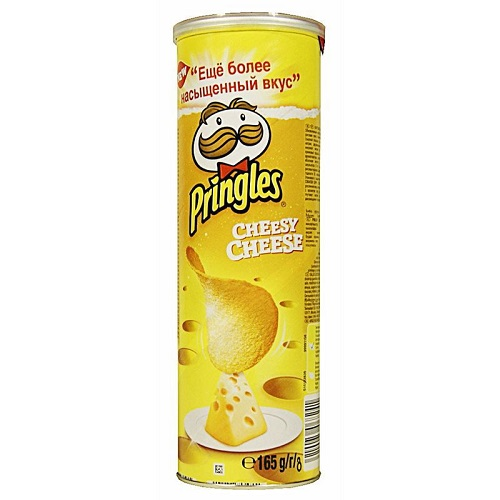 Pringles чипсы картофельные Сыр, 165 гр