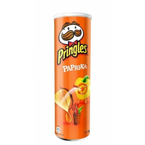 Pringles чипсы картофельные Паприка, 165 гр