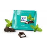Ritter Sport шоколад темный с мятной начинкой, 100 гр