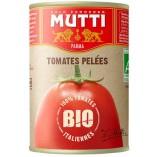 Mutti томаты очищенные целые в томатном соке BIO, 400 гр