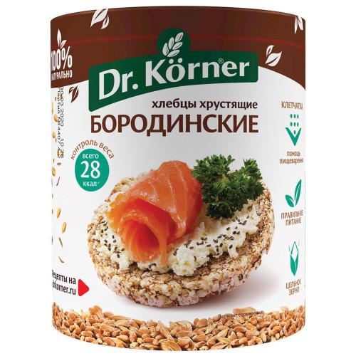 Dr.Korner хлебцы Бородинские, 100 гр