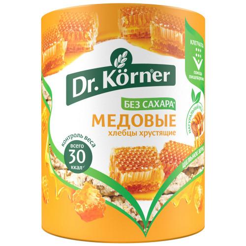 Dr.Korner хлебцы Злаковый коктейль медовый, 100 гр