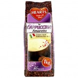 Hearts Cappuccino Amaretto, растворимый, 1000 гр
