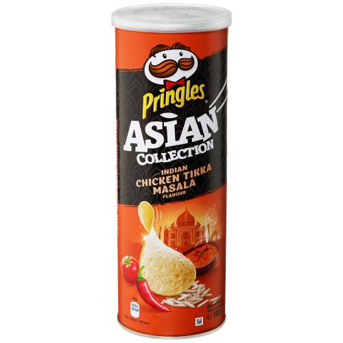Pringles чипсы рисовые Курица Тикка Масала, 160 гр