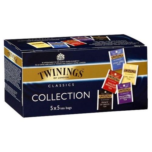 Twinings ассорти Классическая коллекция: 5 вкусов по 4 пакетика