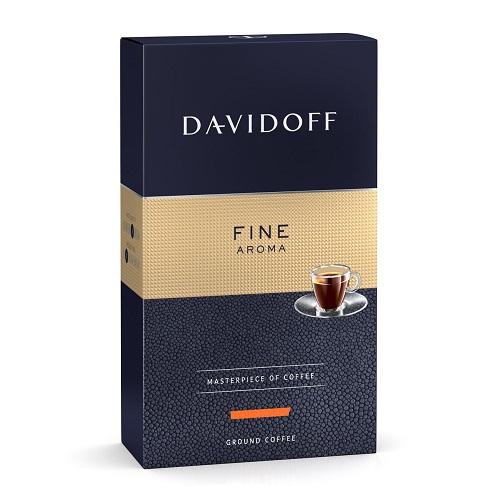 Davidoff Café Grande Cuvée Fine Aroma, молотый, 250 гр.
