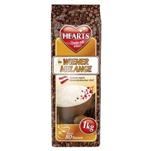 Hearts Cappuccino Wiener Melange, растворимый, 1000 гр