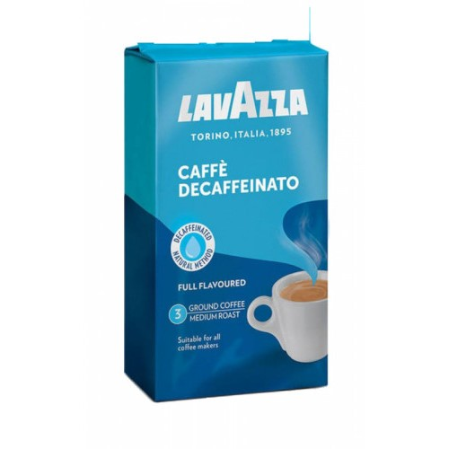 Lavazza Decaffeinato, молотый, 250 гр., уценка