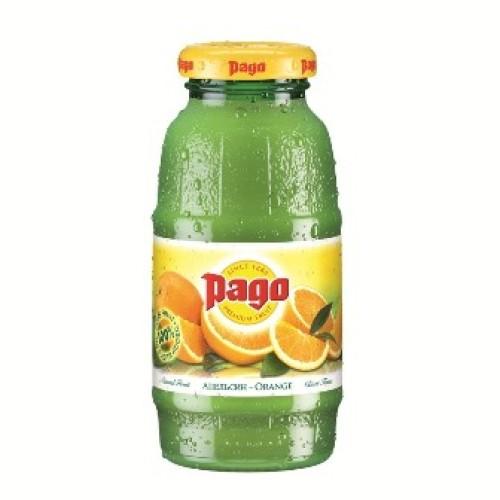 Pago сок Апельсин 200 мл, стекло, 24 шт