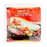 Aroy-D Бумага рисовая  22 см, 454 гр.