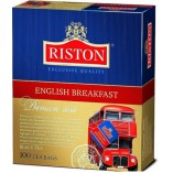 Riston черный чай English Breakfast, 100 пакетиков