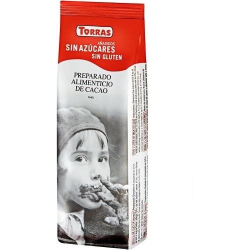 Torras горячий шоколад без сахара, 180 гр