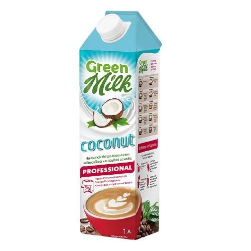 Green Milk Professional напиток соевой основе Кокос, 1л