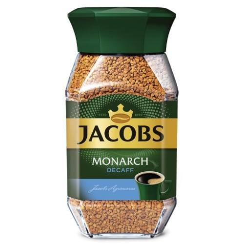 Jacobs Monarch Decaff, растворимый, стекло, 95 гр.