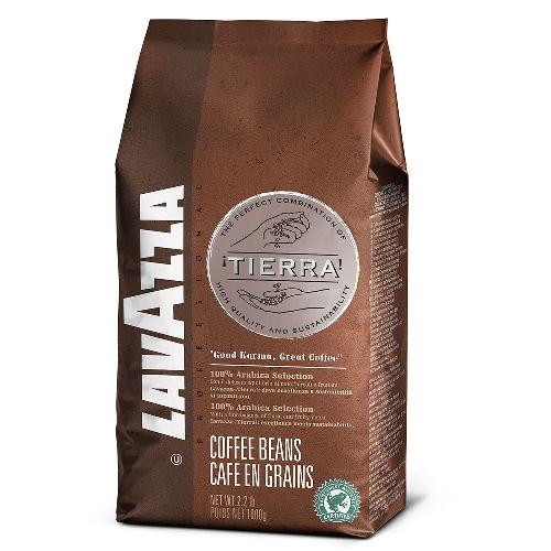 Lavazza Tierra, зерно, 1000 гр.