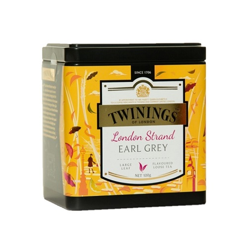 Twinings London Strand Earl Grey, 100 гр