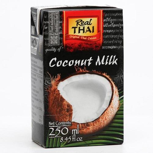 Real Thai молоко кокосовое, 250 мл