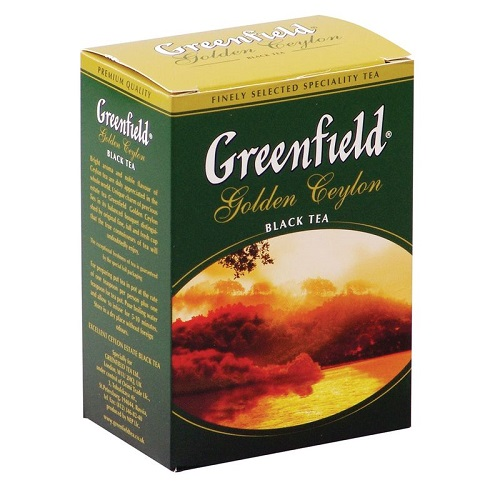 Greenfield чай черный Golden Ceylon, 100 гр
