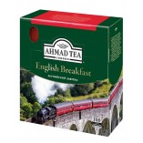 Ahmad Tea черный чай English Breakfast, 100 пакетиков