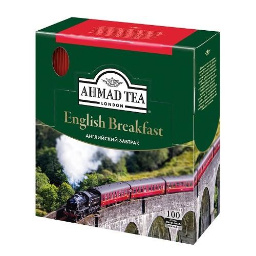 Ahmad Tea черный чай English Breakfast, 100 пакетиков