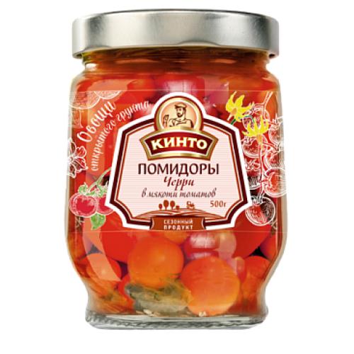 Кинто черри в мякоти томатов, 500 гр