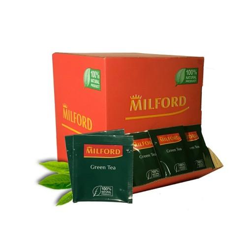 Milford зеленый чай, 200 пакетиков