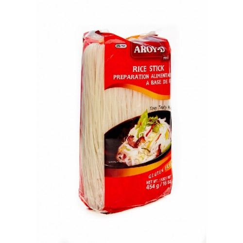 Aroy-D рисовая лапша, 1 мм, 454 гр